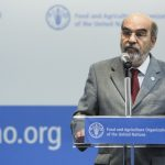 17 October 2016, Rome Italy - José Graziano da Silva, Director-General, FAO. Committee on World Food Security, 43rd Session (CFS 43), 17-21 October 2016, opening session, FAO Headquarters, (Plenary Hall).
